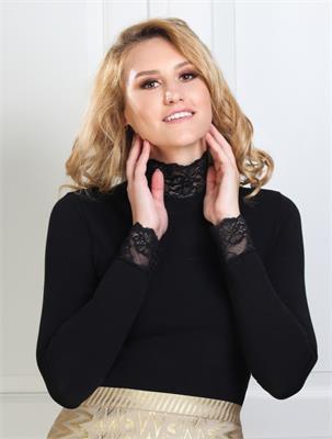 ELEGANT LOOK BLACK SIZE L | Escapade Fashion