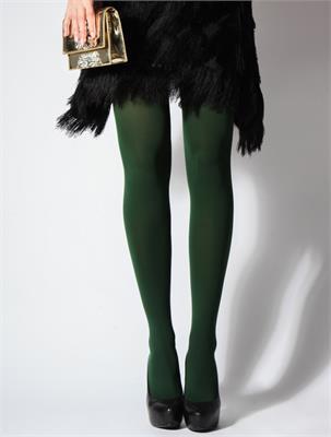 GREEN 100 DEN SIZE 2 | Escapade Fashion