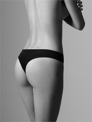 INVISIBLE BRAZILIAN BLACK SIZE L   Escapade Fashion