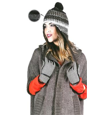 JOLIE LOOK BLACK SIZE UNICA | Escapade Fashion