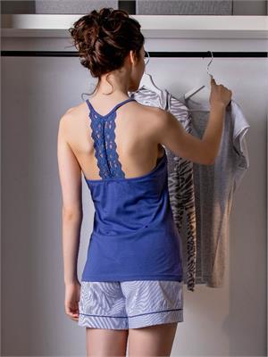 LIGHT COTTON BLUE SIZE L | Escapade Fashion