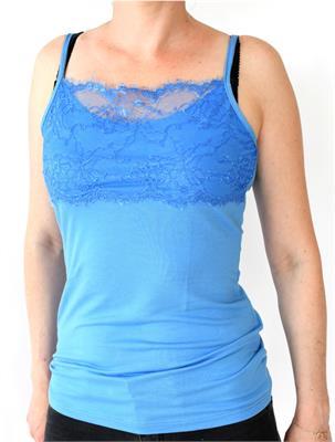 NADIA TOP BLUE SIZE L   Escapade Fashion
