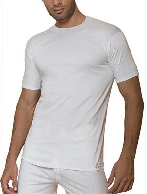 SET 3 BASIC T-SHIRT WHITE SIZE L | Escapade Fashion