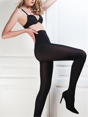 SOFT BLACK 100 DEN SIZE 2 | Escapade Fashion