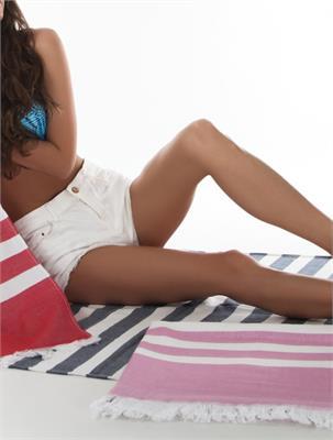 SUMMER COLOURS MAUVE SIZE 90 X 170 CM   Escapade Fashion